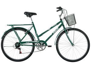 bicicleta caloi poti verde aro 26