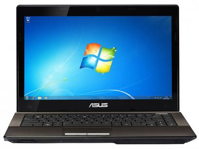 Notebook Asus K43U-VX072O AMD® Fusion Dual Core - 2GB 500GB LED 14 Windows 7 HDMI
