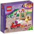 LEGO Friends A Pizzaria da Stephanie 87 Peças - 41092